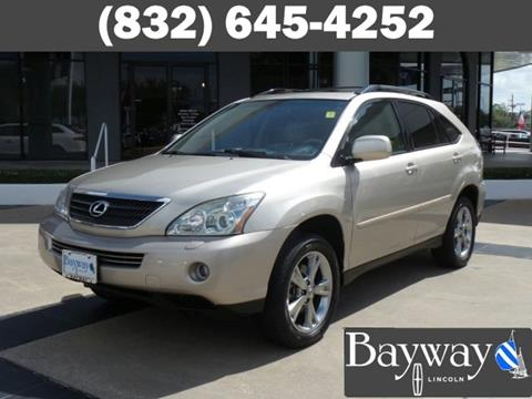 2007 Lexus RX 400h for sale in Houston, TX