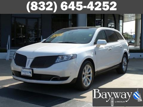 2014 Lincoln MKT for sale in Houston, TX
