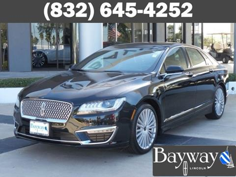 2017 Lincoln MKZ for sale in Houston, TX
