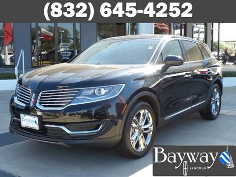 2016 Lincoln MKX for sale in Houston, TX