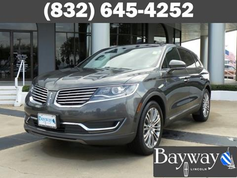 2017 Lincoln MKX for sale in Houston, TX