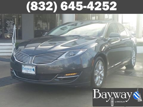 2015 Lincoln MKZ for sale in Houston, TX