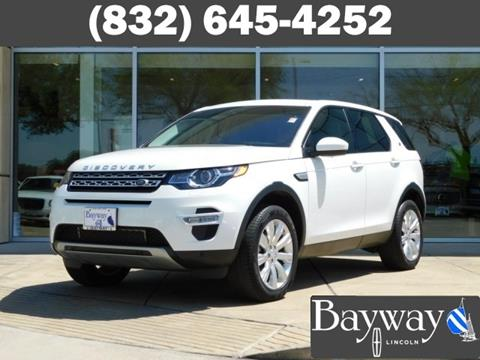 land rover discovery for sale in houston tx. Black Bedroom Furniture Sets. Home Design Ideas