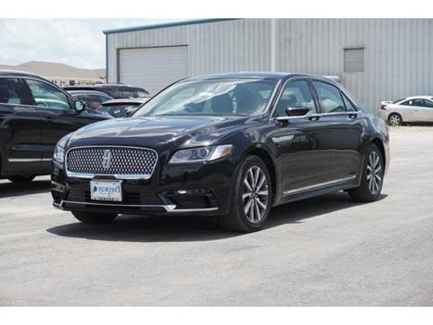 2019 Lincoln Continental for sale in Houston, TX