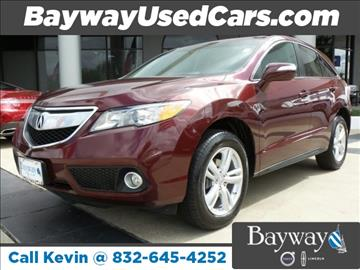 2013 Acura RDX for sale in Houston, TX