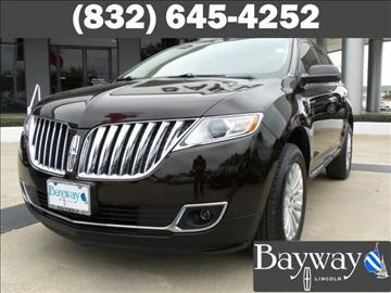 2013 Lincoln MKX for sale in Houston, TX