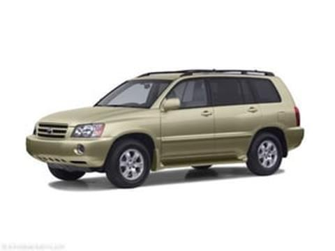 2003 Toyota Highlander for sale in Fargo, ND