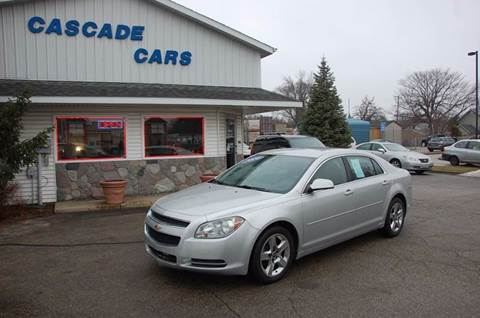 2010 Chevrolet Malibu for sale at Cascade Cars Inc. in Grand Rapids MI