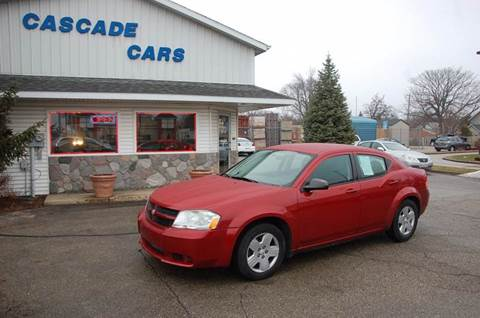 2010 Dodge Avenger for sale at Cascade Cars Inc. in Grand Rapids MI