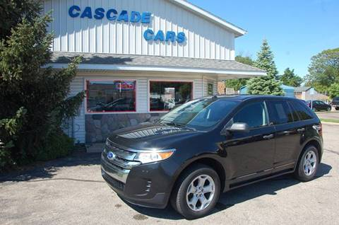 2013 Ford Edge for sale at Cascade Cars Inc. in Grand Rapids MI