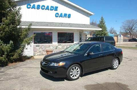 2007 Acura TSX for sale at Cascade Cars Inc. in Grand Rapids MI