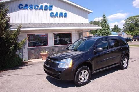 2009 Chevrolet Equinox for sale at Cascade Cars Inc. in Grand Rapids MI