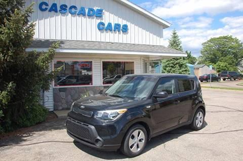 2014 Kia Soul for sale at Cascade Cars Inc. in Grand Rapids MI