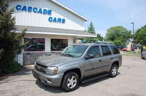 2005 Chevrolet TrailBlazer for sale at Cascade Cars Inc. in Grand Rapids MI