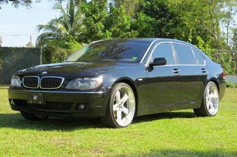 2006 BMW 7 Series for sale at DK Auto Sales in Hollywood FL