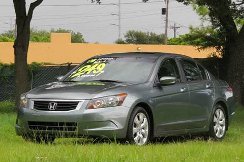 2008 Honda Accord for sale at DK Auto Sales in Hollywood FL