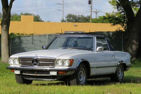 1972 Mercedes-Benz SL-Class for sale at DK Auto Sales in Hollywood FL