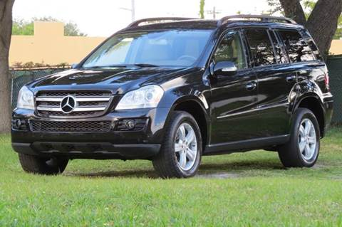 2007 Mercedes-Benz GL-Class for sale at DK Auto Sales in Hollywood FL
