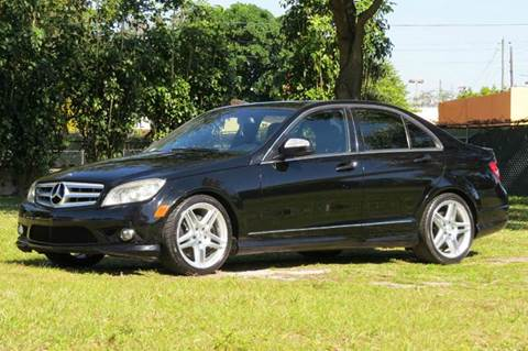 2008 Mercedes-Benz C-Class for sale at DK Auto Sales in Hollywood FL