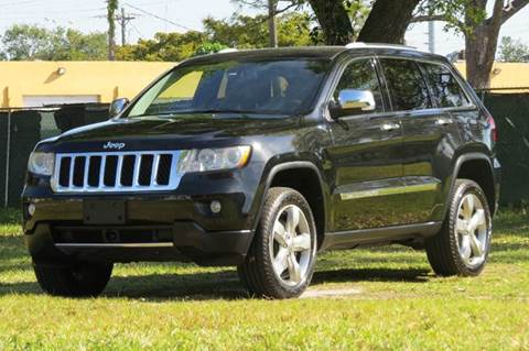 2012 Jeep Grand Cherokee for sale at DK Auto Sales in Hollywood FL