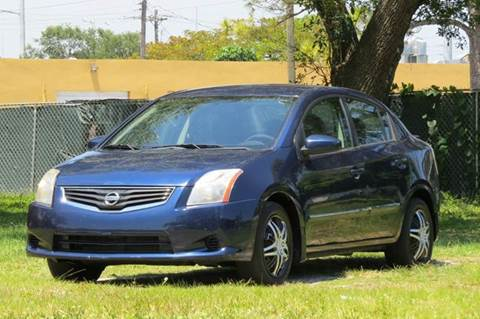 2012 Nissan Sentra for sale at DK Auto Sales in Hollywood FL