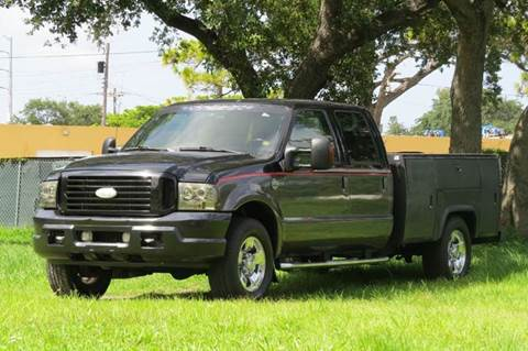 2004 Ford F-250 Super Duty for sale at DK Auto Sales in Hollywood FL