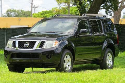 2008 Nissan Pathfinder for sale at DK Auto Sales in Hollywood FL