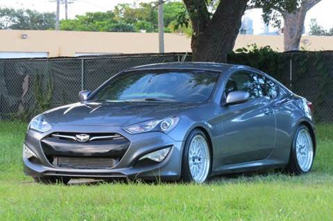 2014 Hyundai Genesis Coupe for sale at DK Auto Sales in Hollywood FL