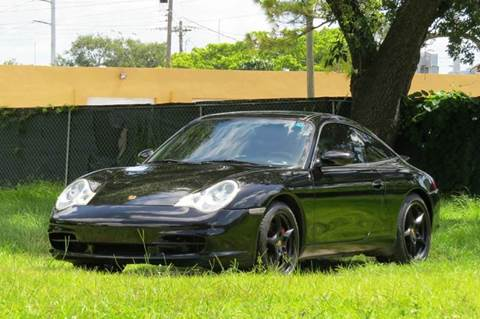 2002 Porsche 911 for sale at DK Auto Sales in Hollywood FL