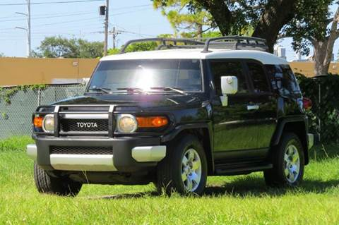 2008 Toyota FJ Cruiser for sale at DK Auto Sales in Hollywood FL