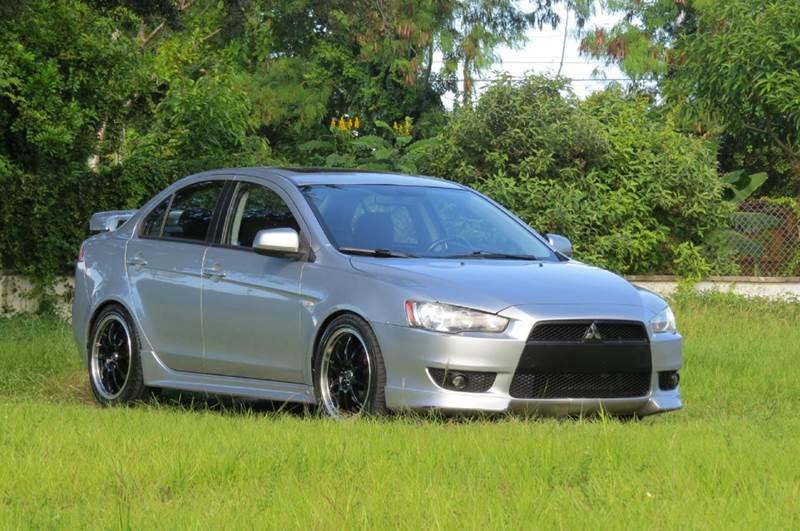 2008 mitsubishi lancer gts 4dr sedan cvt in hollywood fl - dk auto sales