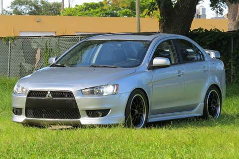 2008 Mitsubishi Lancer for sale at DK Auto Sales in Hollywood FL