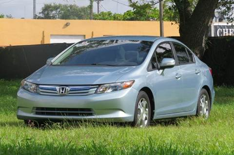 2012 Honda Civic for sale at DK Auto Sales in Hollywood FL