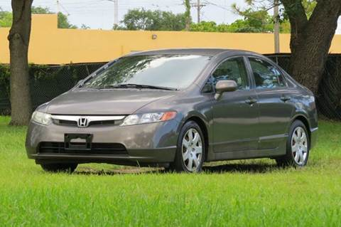 2008 Honda Civic for sale at DK Auto Sales in Hollywood FL