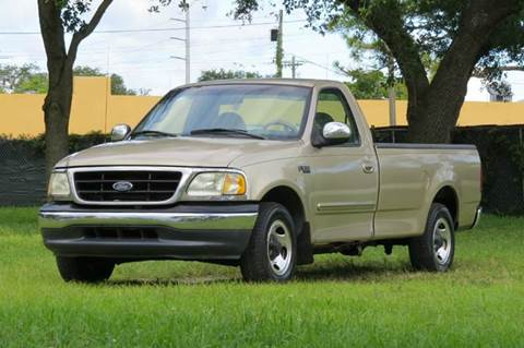 1999 Ford F-150 for sale at DK Auto Sales in Hollywood FL