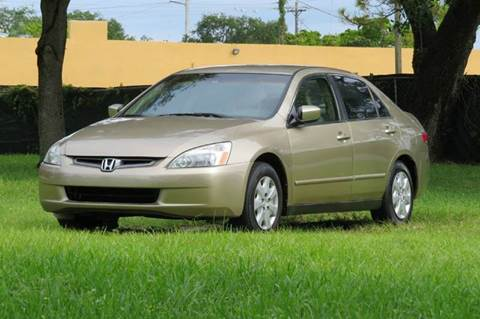 2003 Honda Accord for sale at DK Auto Sales in Hollywood FL