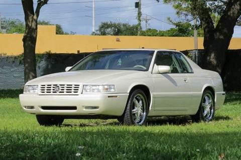 1999 Cadillac Eldorado for sale at DK Auto Sales in Hollywood FL