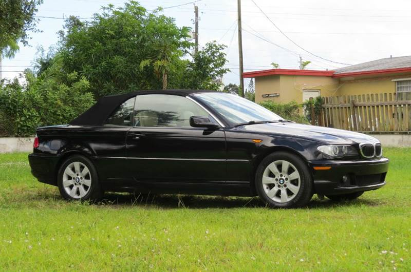 Bmw Series Ci Dr Convertible In Hollywood FL DK Auto - 2006 bmw 325ci convertible