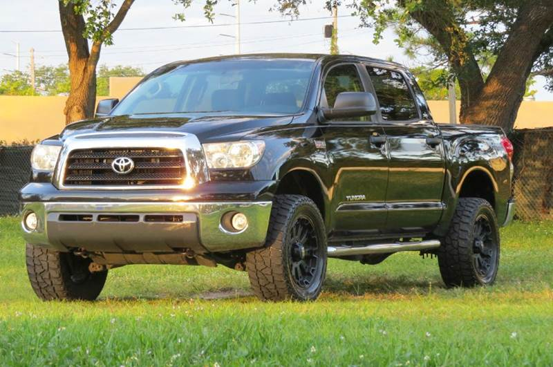 2008 Toyota Tundra SR5 4x4 4dr CrewMax SB (5.7L V8)   Hollywood FL