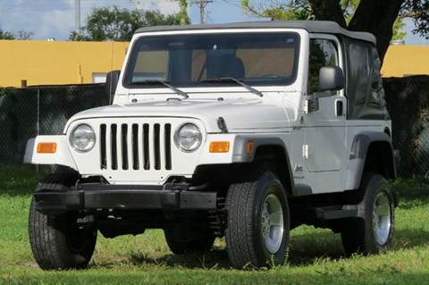 2005 Jeep Wrangler for sale at DK Auto Sales in Hollywood FL