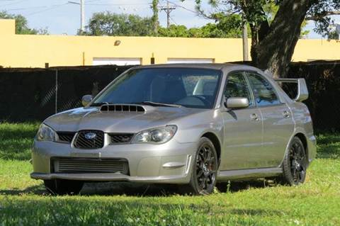 2006 Subaru Impreza for sale at DK Auto Sales in Hollywood FL