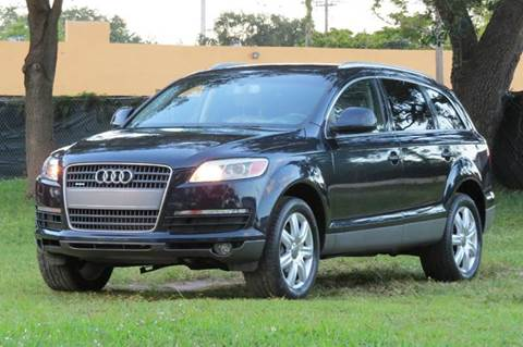 2007 Audi Q7 for sale at DK Auto Sales in Hollywood FL