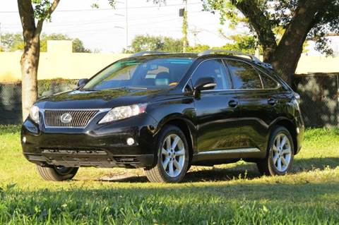 2010 Lexus RX 350 for sale at DK Auto Sales in Hollywood FL