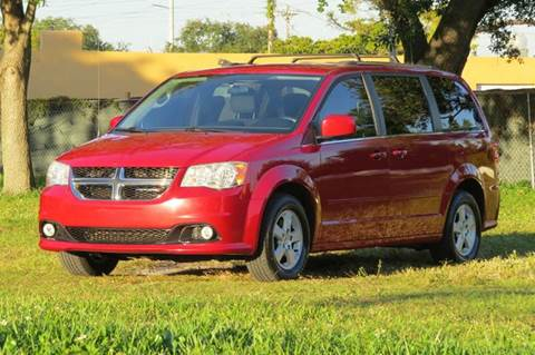 2013 Dodge Grand Caravan for sale at DK Auto Sales in Hollywood FL