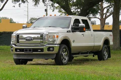 2011 Ford F-250 Super Duty for sale at DK Auto Sales in Hollywood FL