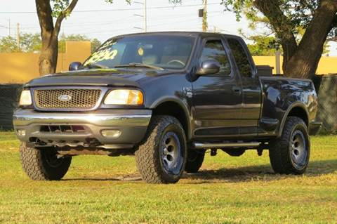 2002 Ford F-150 for sale at DK Auto Sales in Hollywood FL
