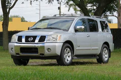2006 Nissan Armada for sale at DK Auto Sales in Hollywood FL