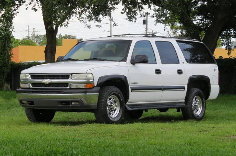 2000 Chevrolet Suburban 4dr 2500 Ls 4wd Suv In Hollywood Fl Dk