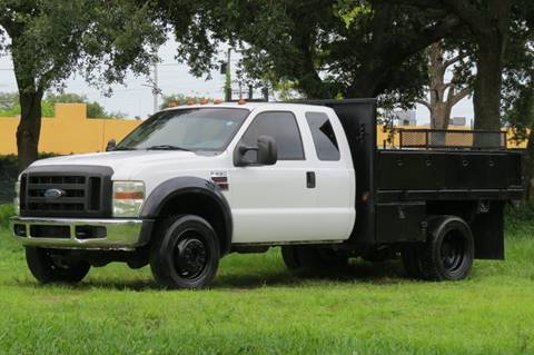 2008 Ford F-550 Super Duty for sale at DK Auto Sales in Hollywood FL