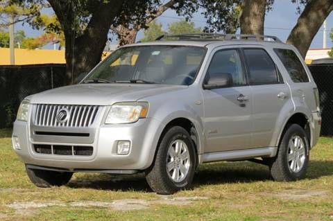 2008 Mercury Mariner for sale in Hollywood, FL